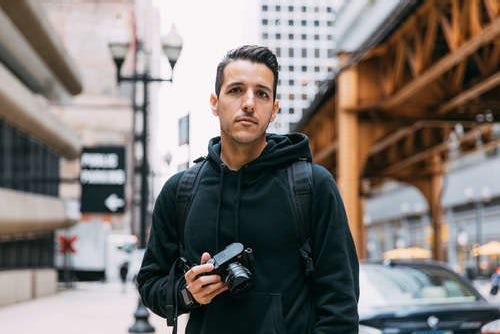 <p>Photographer Vince DeSantiago</p>