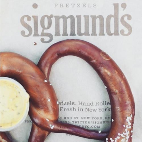 <p>Sigmunds Pretzels</p>